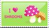 Shrooms Stamp by nandiamond