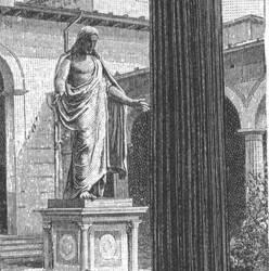 Jesus (statue on a tomb)
