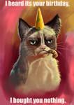 Grumpy cat wishes
