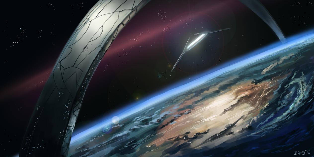 Halo planet by Dkundzinsh on DeviantArt