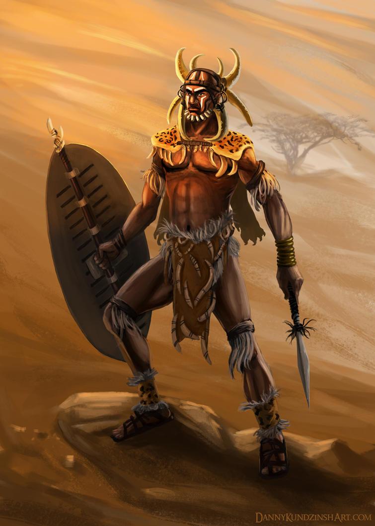 King Shaka Zulu by Dkundzinsh on DeviantArt