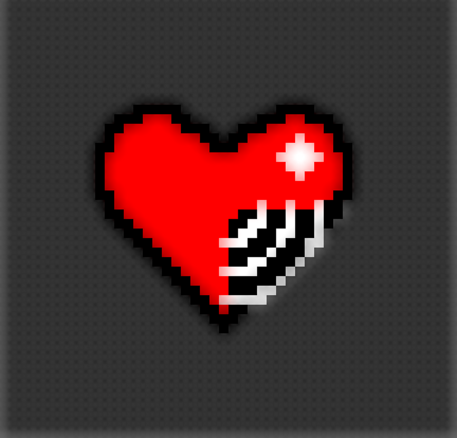 Broken Pixels: PIXEL BROKEN HEART By NathanMitchell2000 On DeviantArt