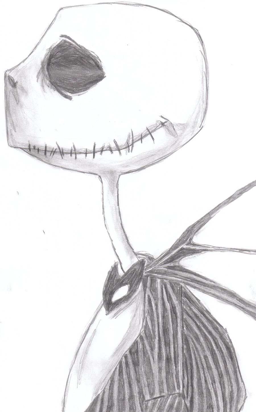 Related Pictures Scary nightmare before christmas drawings