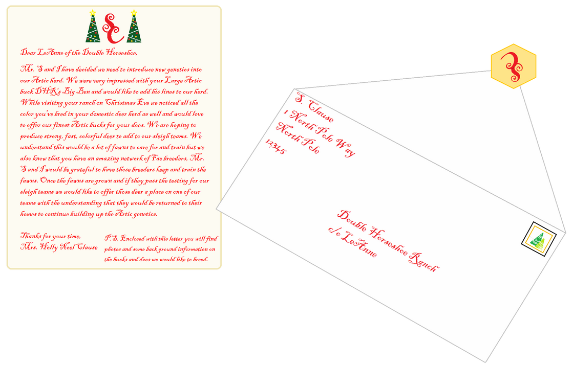 A special letter has arrived by appieloosa