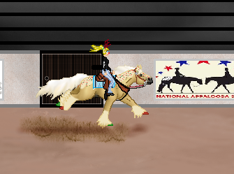 CFF Christmas Cookie Freestylr Reining by appieloosa