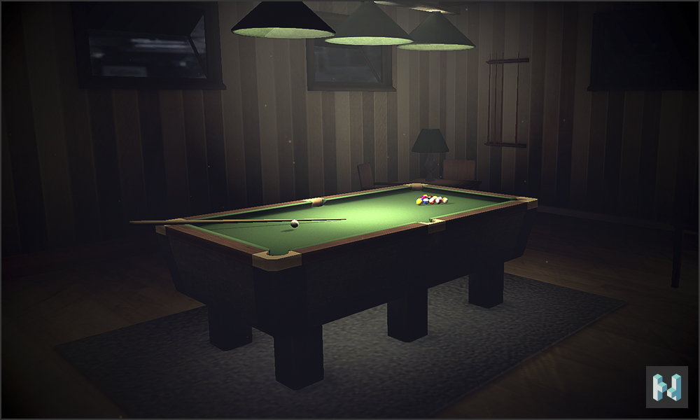 Unity 3d billard room by necrondesign on deviantart for Unity 3d room design