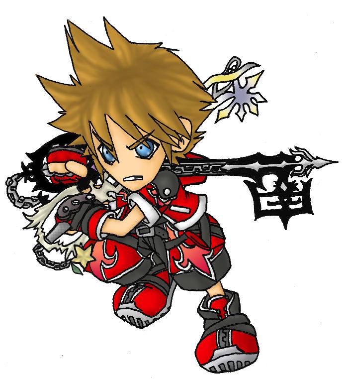 Sora 'Valor' Form SD by shadow-shasuka on DeviantArt