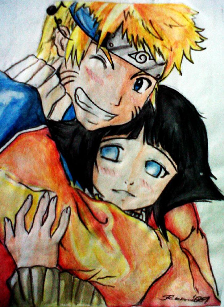 Naruto And Hinata Fanart By Ec2005 On Deviantart