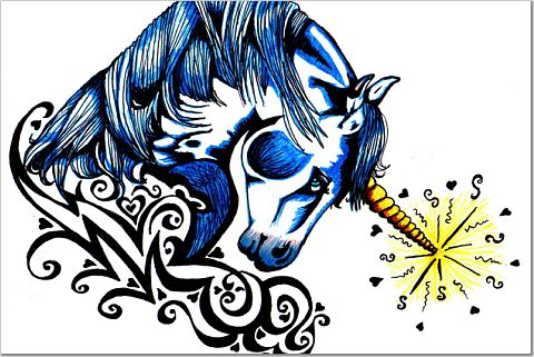 Unicorn by faerone