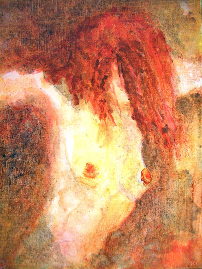 Zena na slikarskom platnu Act_acryl_by_EstherVienna