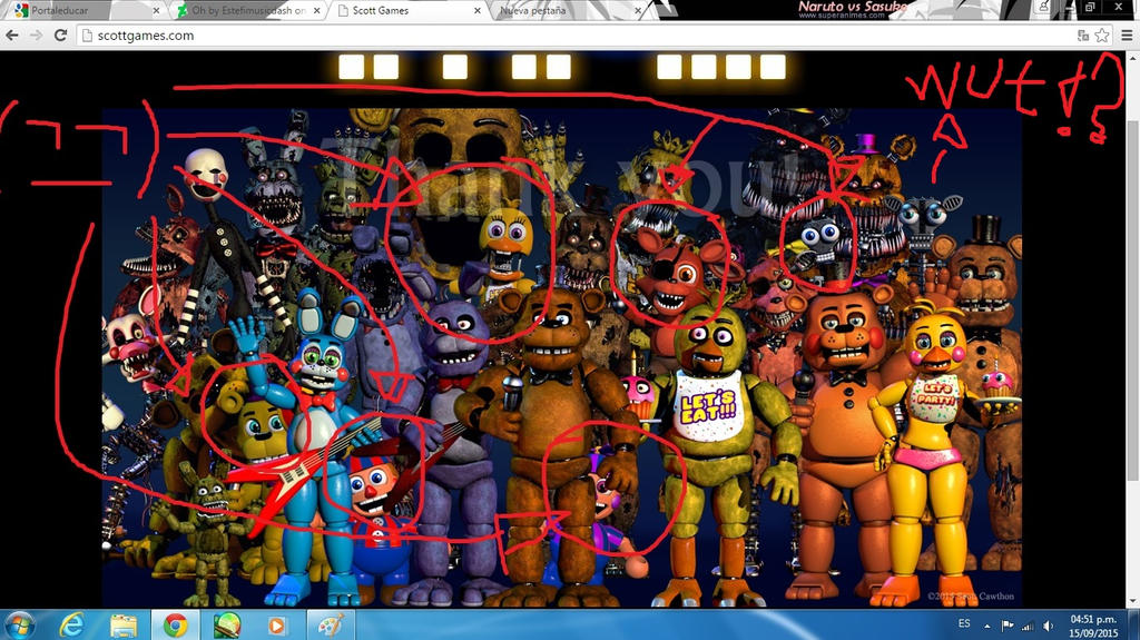 You ruined this scott cawthon by cream1311 on deviantart