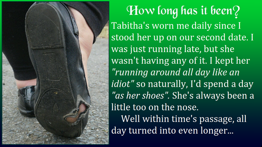 A Mile as Her Shoes (1/2) by FetchinglyAwesome