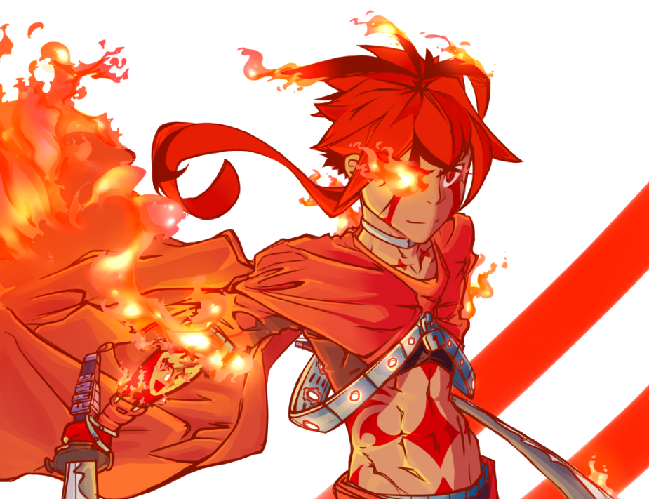 Jason the Fire Wraith by Bro-Taku