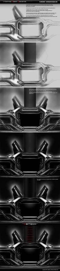 Dark Interface Design Sequence