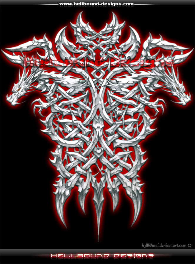 Double Dragon Celtic by H3LLB0uND