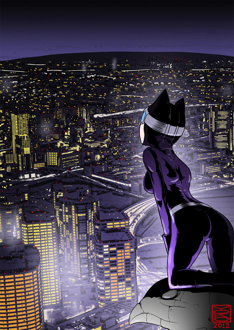 CATWOMAN by Y0KO
