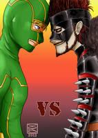 Kick-Ass VS Mother-Fucker by Y0KO