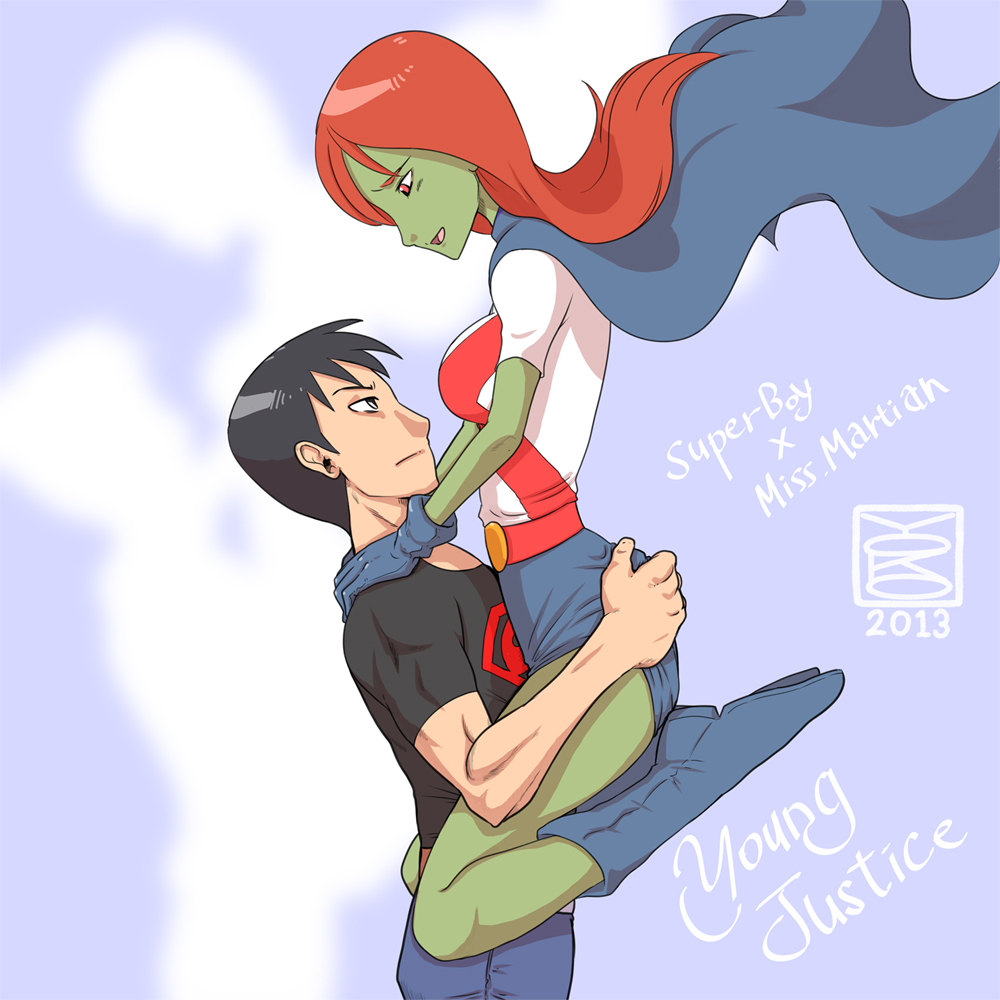 Miss martian and superboy fanfiction