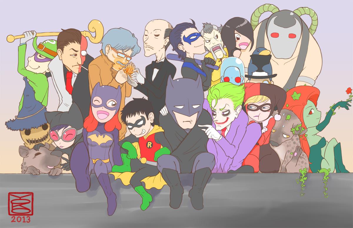 Gotham City by Y0KO
