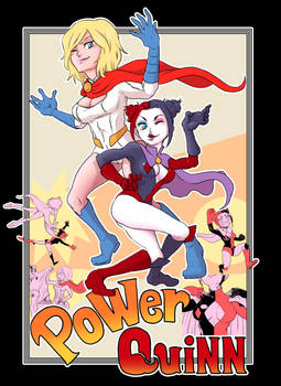 Harley Quinn X POWERGIRL