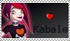 Kabale Love Stamp by kaorinyaplz