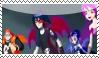 Devils prisma fly Stamp by kaorinyaplz