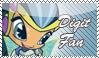 Digit Stamp by kaorinyaplz