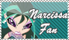 Narcissa Fan Stamp by kaorinyaplz