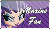 Maxine Fan Stamp by kaorinyaplz