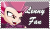 Lenny Fan Stamp by kaorinyaplz