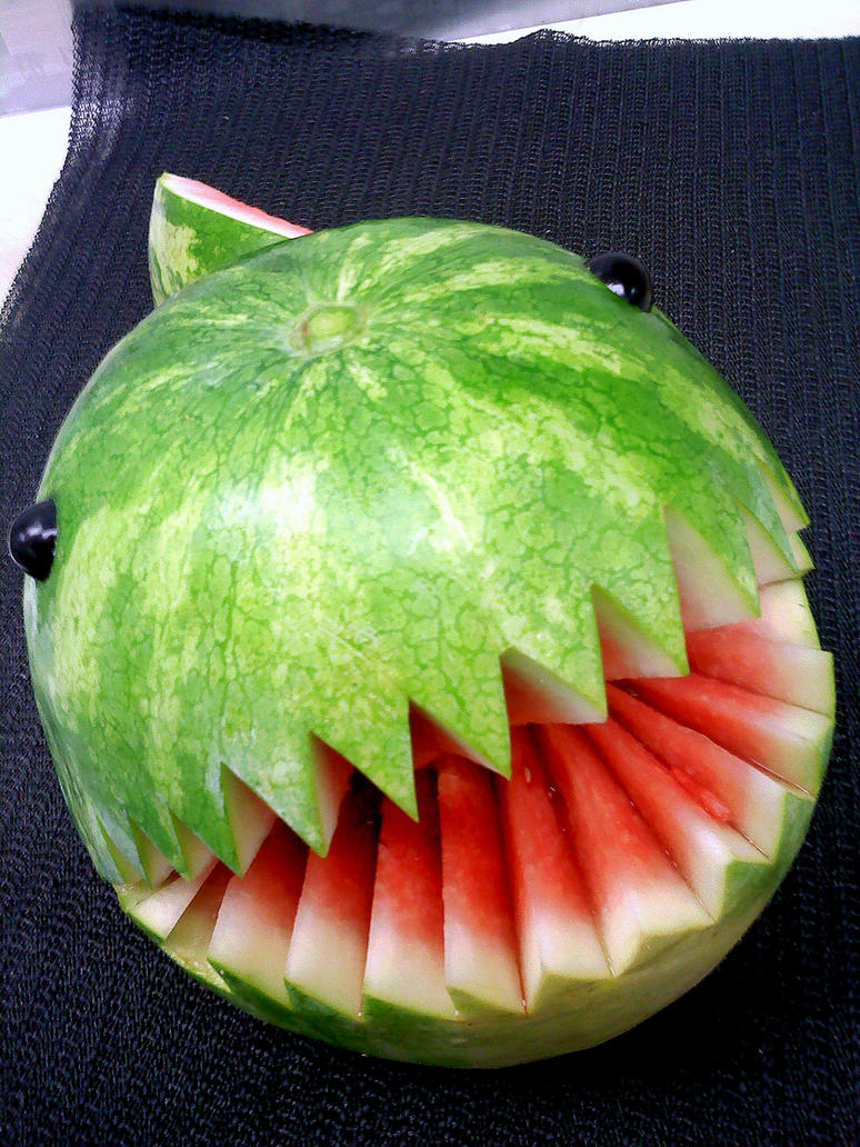 Watermelon Chomp-Chomp 2 by DoctorTonyStarkWho