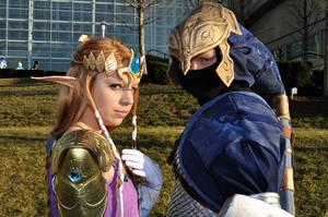 Zelda - Saving the Princess by CrystalPanda