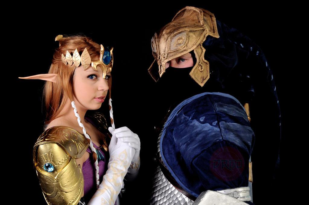 Zelda - Together by CrystalPanda