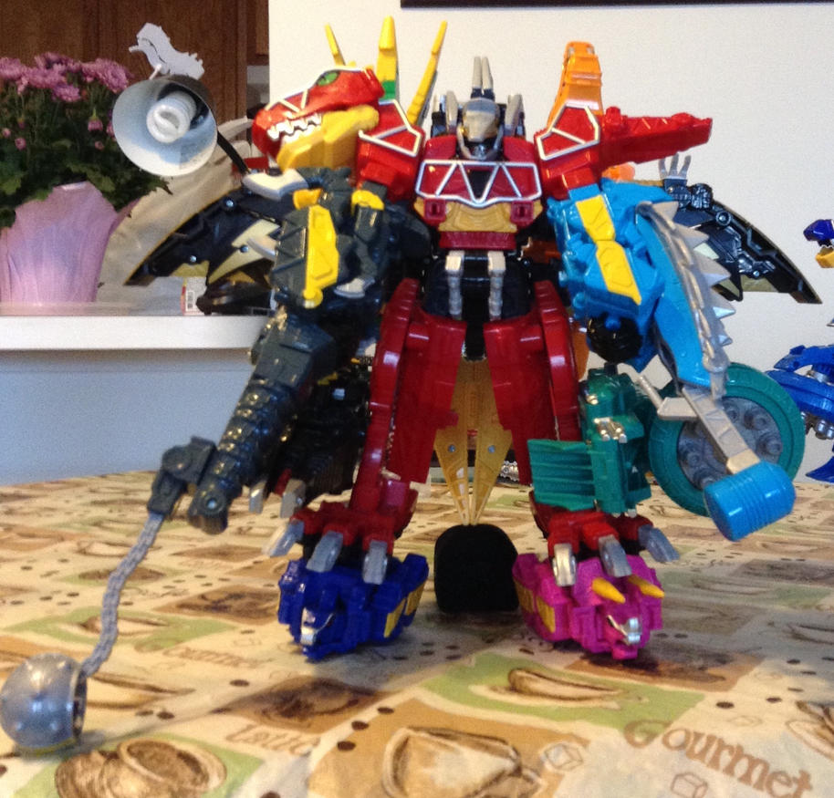 Decagon Charge Megazord By RobertYJ On DeviantArt