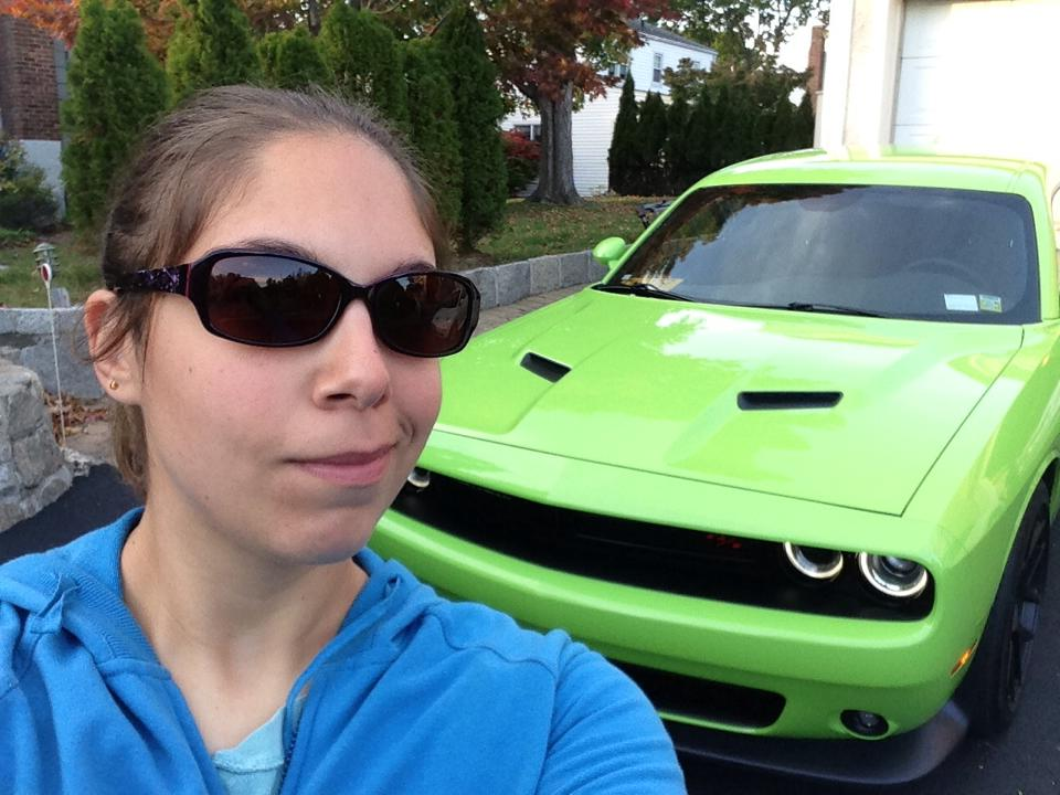My 2015 Dodge Challenger Scat Pack by Kittylover9399