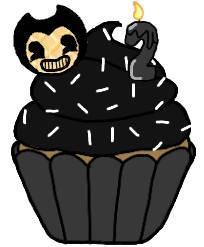 Bendy cupcake