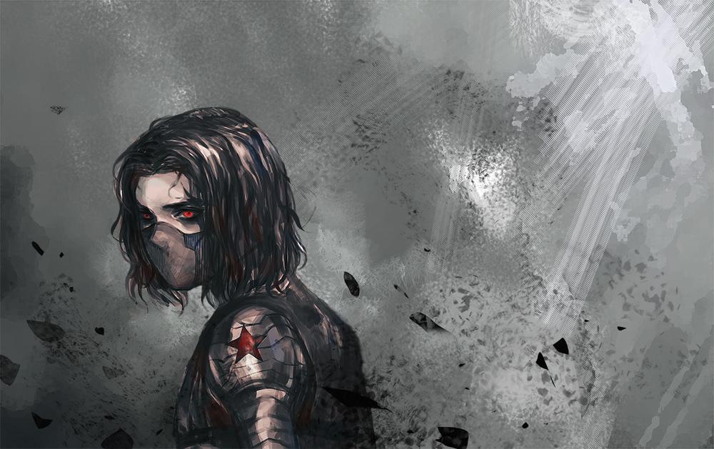 Winter Soldier by MELLORIA358 on DeviantArt