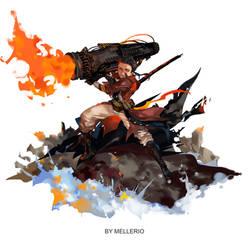 Damian Wayne by MELLORIA358