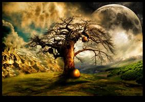 The Last Pumpkin Tree by blackgarlic