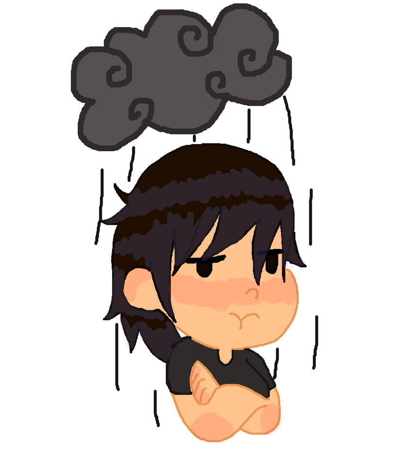 Perpetual Rain Cloud by Thecowgoesmoo12