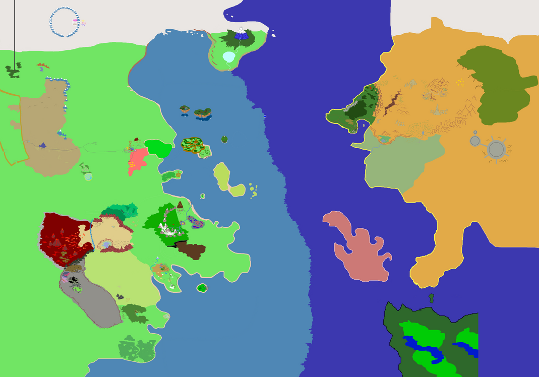 Otherworld Map (No Labels) by PkmnOriginsProject on DeviantArt