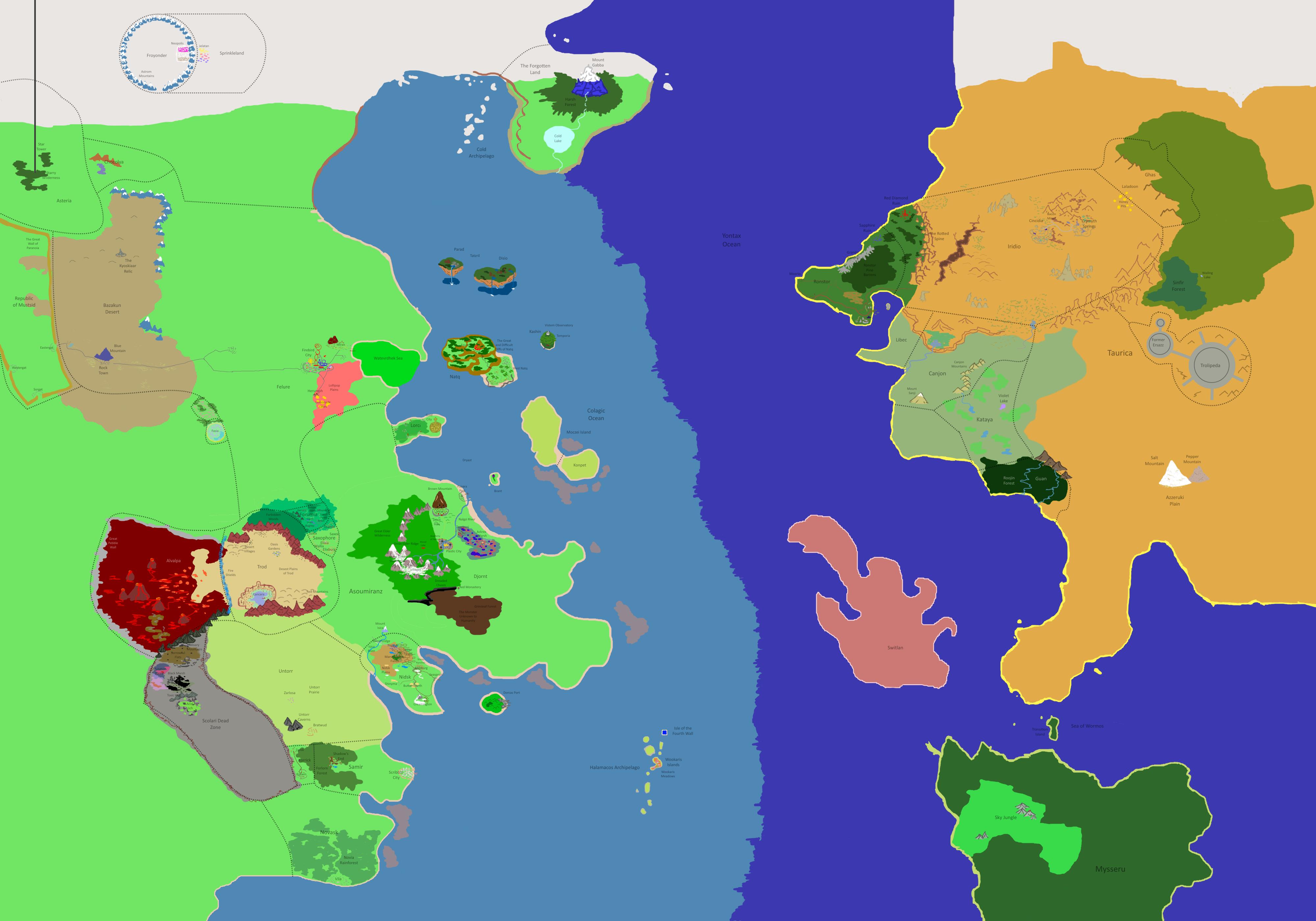 Otherworld Map update by PkmnOriginsProject