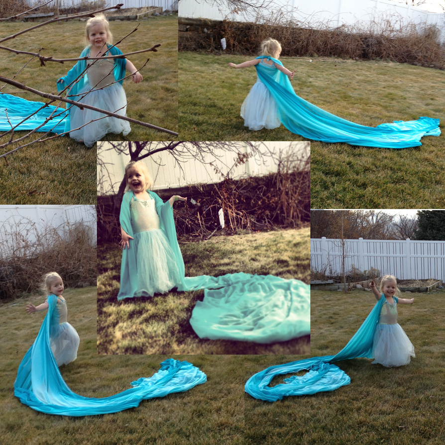 Baby Elsa by MikiPhineas