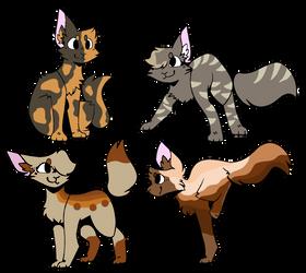 Cat Adopts 1/4