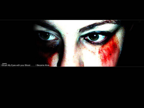 I Brush My Eyes..........