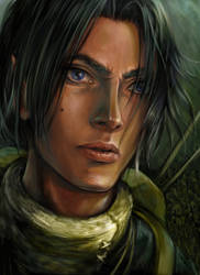 character portrait by hel999