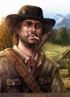Red Dead Redemption - Marston by hel999
