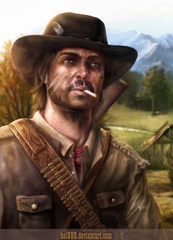 Red Dead Redemption - Marston