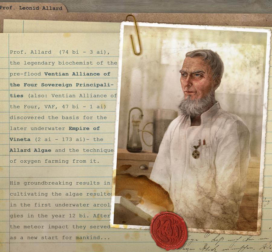 Character Sheet, Prof. Allard by hel999