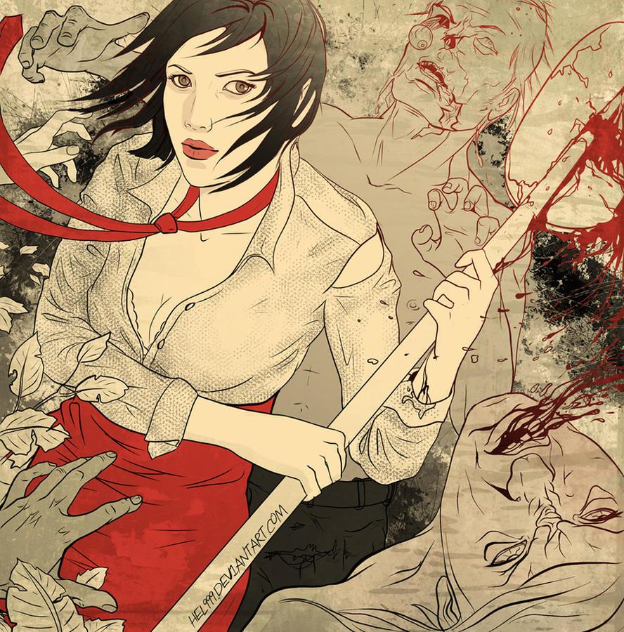 Dead Island - Xian Mei by hel999